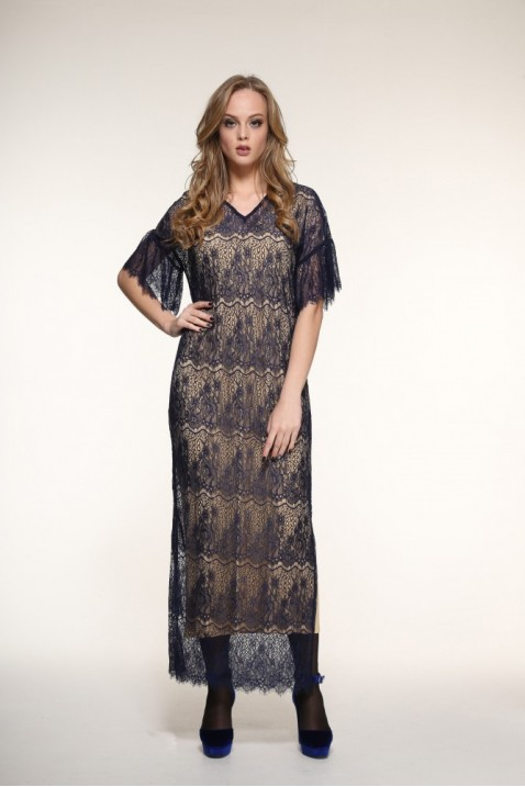 Платье 9181 размеры 40- 58